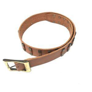 Robinson California Belt Glassed Aniline Steerhide